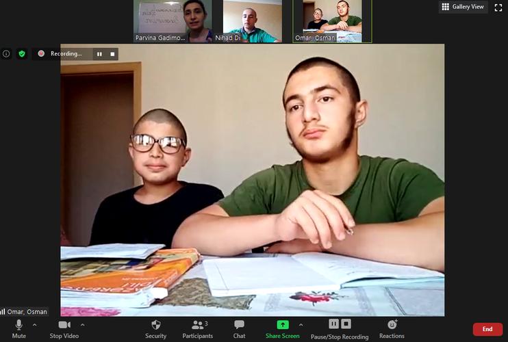 Дети, привезенные из Ирака в Азербайджан, привлечены к обучению