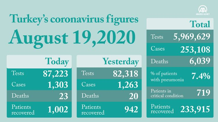 'Turkey to hit 100,000 daily virus tests within days'