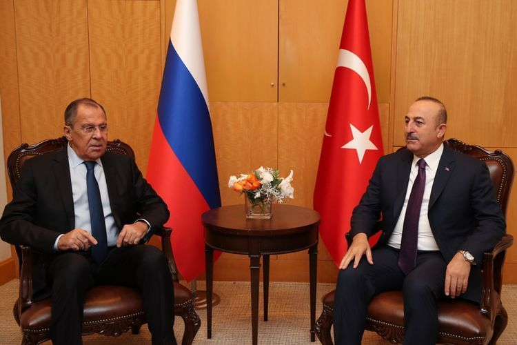 Turkish and Russian FMs discuss Syria and Libya