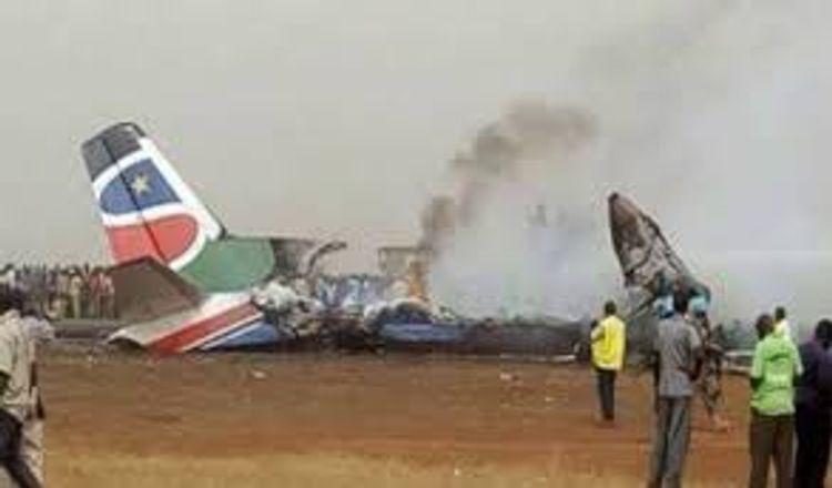 17 people killed in plane crash in South Sudan
