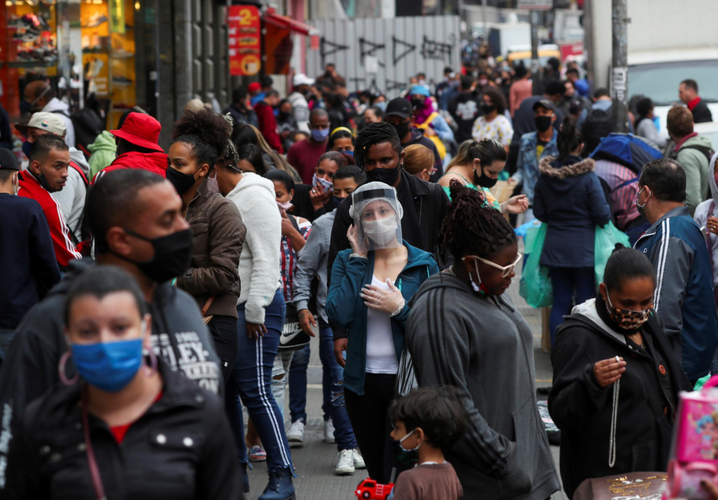 Brazil registers 50,032 new cases of coronavirus, 892 deaths in 24 hours