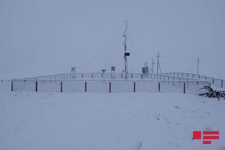 В высокогорных районах Азербайджана выпал снег - <span class='red_color'>ФОТО</span>