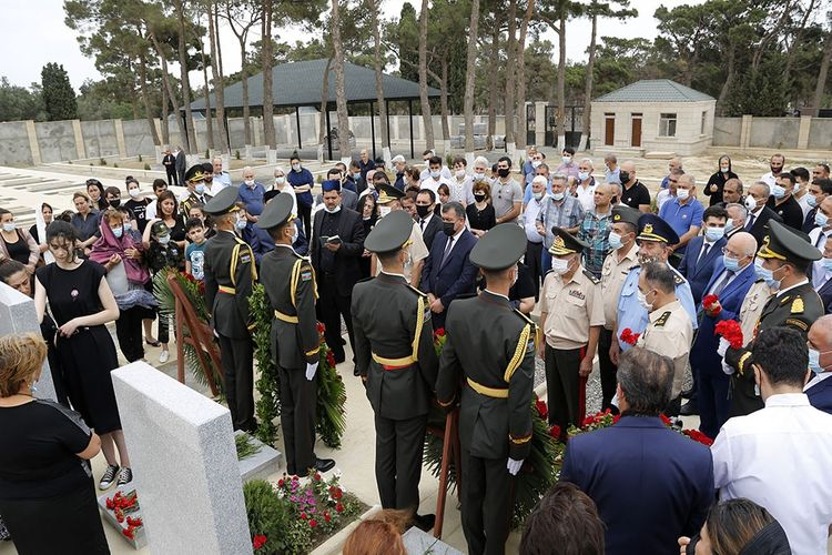 The commemoration ceremonies took place to honor servicemen who died as Shehids in Tovuz battles