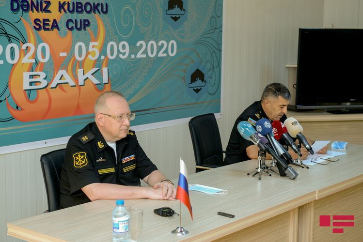 """Commander of Naval Forces of Azerbaijan: """"Sea Cup"""" contest serves for strengthening peace on Caspian Sea"""