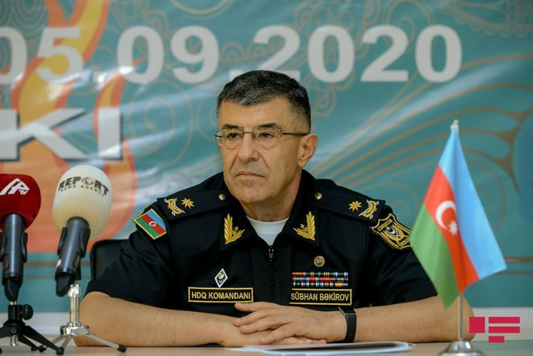 Commander of Naval Forces of Azerbaijan: