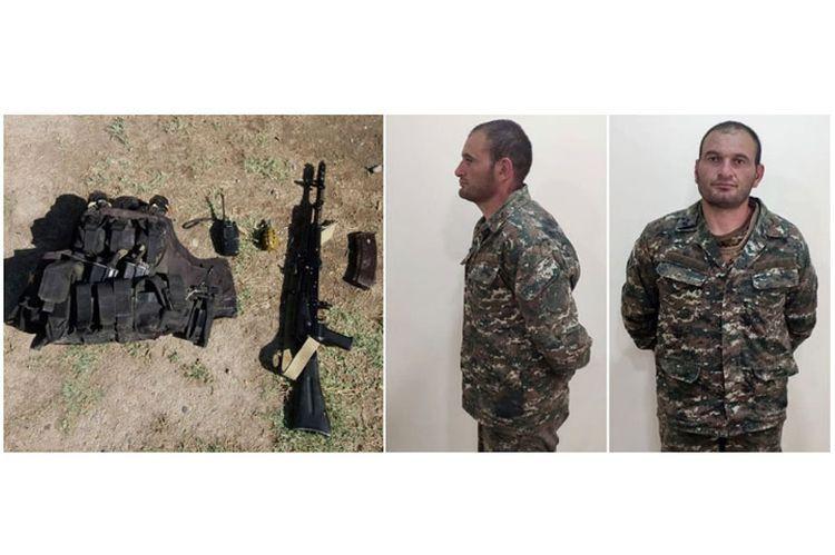 Azerbaijani MOD: Presenting equipment found on the captured commander of Armenian sabotage-reconnaissance group