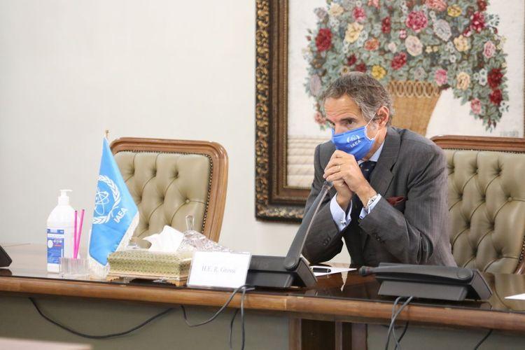 International Atomic Energy Agency Director-General holds meetings in Iran