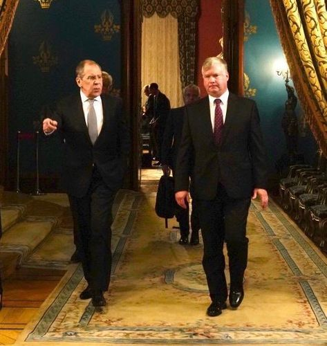 First US Deputy Secretary of State meets with Russian FM