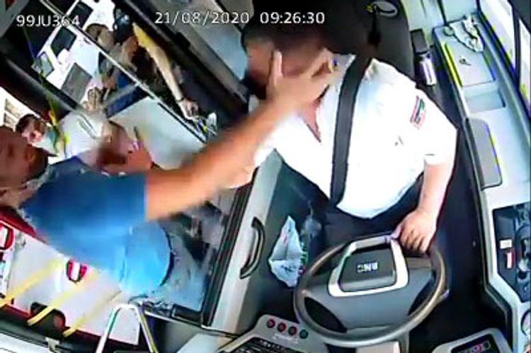 Avtobus sürücüsünü maskaya görə vuran şəxs 30 gün müddətinə həbs olunub - <span class=