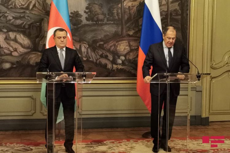 """Lavrov: """"Russia to continue its efforts on regulation of Garabagh conflict from now on too"""""""