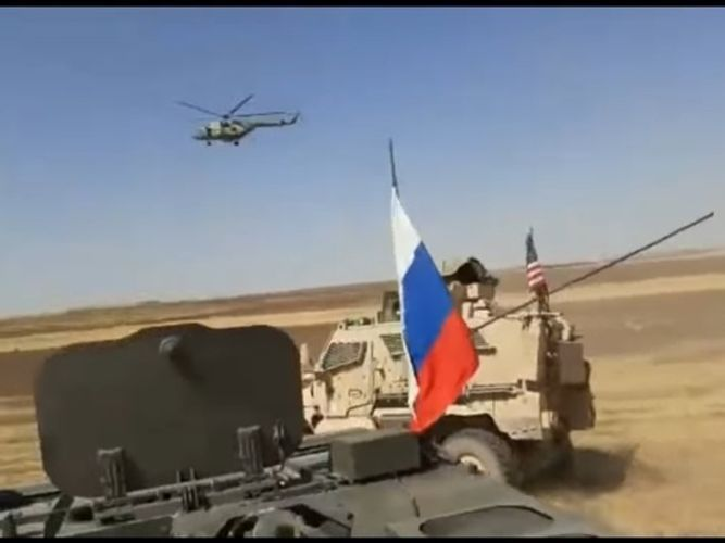 Video of incident between Russian and US militants in Syria disseminated - <span class=