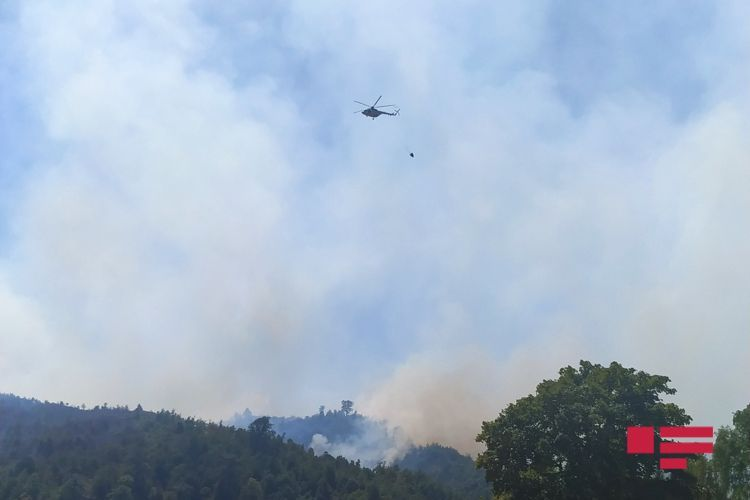 Fire in the mountainous area of Khizi extinguished - <span class=