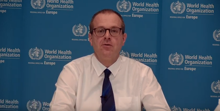 """WHO Regional Director: """"Europe sees increase in infections among younger people"""""""