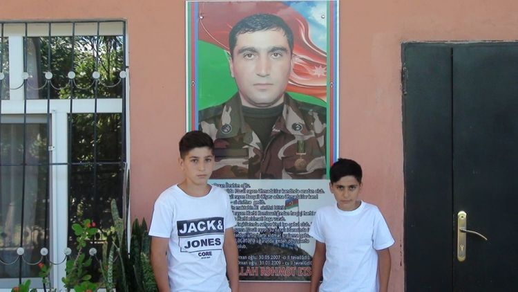Azerbaijani MES takes care of two children of martyr  - <span class=