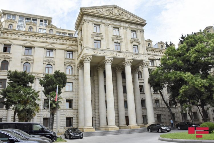 """MFA: We firmly reject the statements of the Armenian side against Azerbaijan, containing baseless accusations of violation of international humanitarian law and """"Armenophobia"""""""