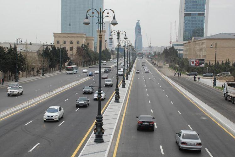 Движение по побочной дороге проспекта Гейдара Алиева будет ограничено