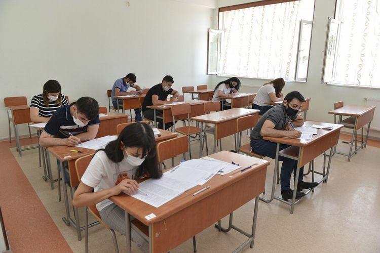 Обнародованы результаты экзамена по азербайджанскому языку, проведенного 27 августа