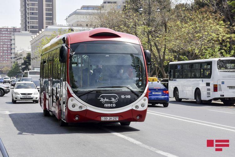 В Баку, Сумгайыте и Абшероне в выходные дни общественный транспорт не будет работать