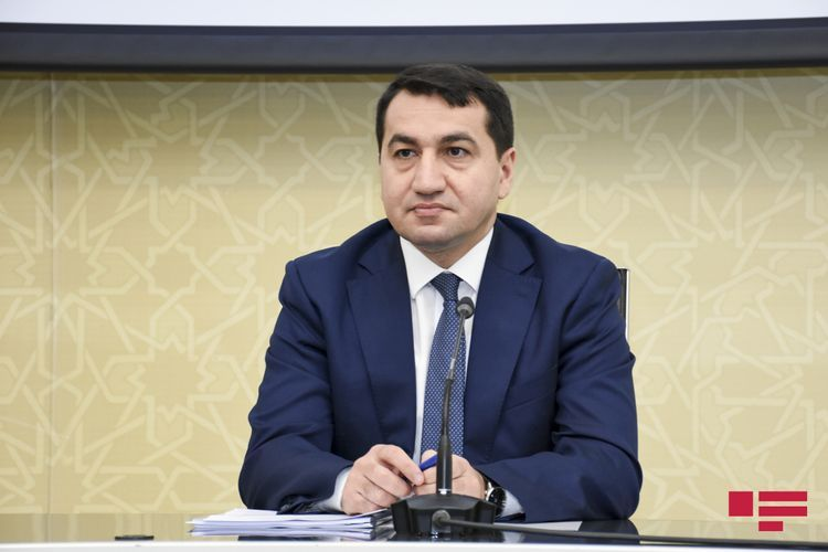 """Presidential aide: It was stated to WHO that the data about coronavirus infection in Nagorno Garabagh should be shown in Azerbaijan's general statistics"""""""
