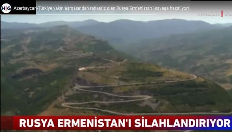 Turkish TV channels air reportage on how Russia prepares Armenia for a war with Azerbaijan - <span class=