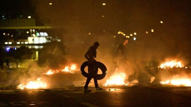 Protest against Koran-burning turns violent in Sweden