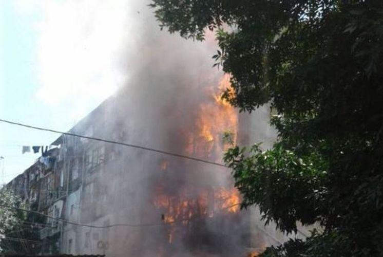Smoke killed 2 underage children as fire raged through flat in Azerbaijan