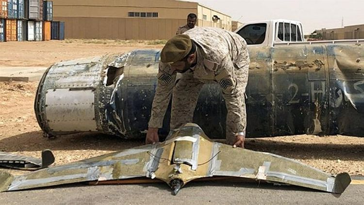 Saudi-led coalition destroys explosive-laden drone launched by Yemen