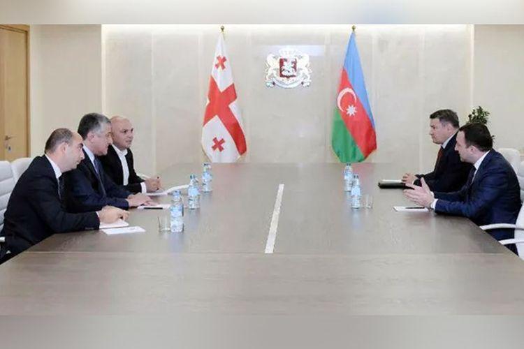 Gürcüstanın müdafiə naziri Dursun Həsənovu qəbul edib