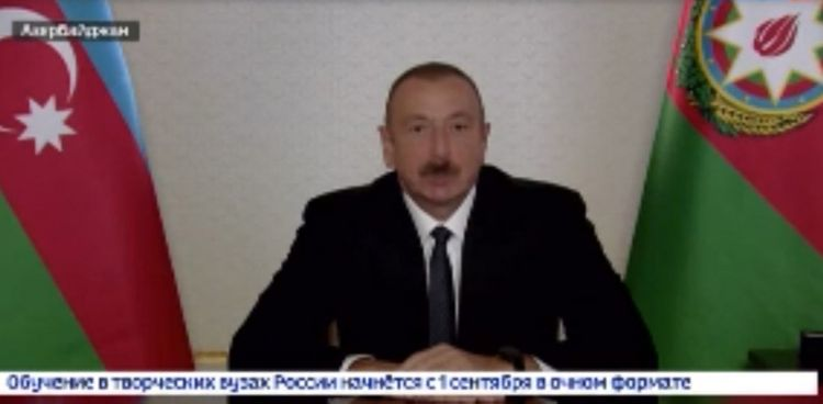 """President Ilham Aliyev: """"Azerbaijan has made a worthy contribution to our common victory"""""""