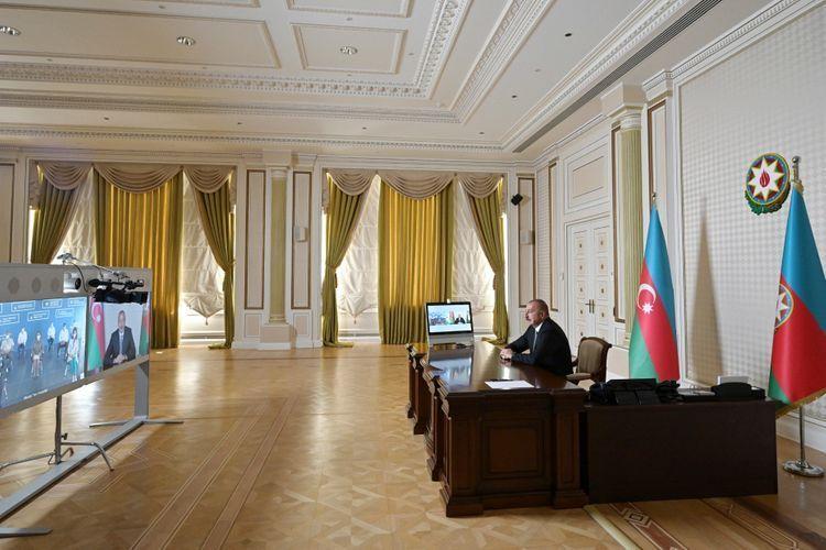 Президент Ильхам Алиев: Мы проводим активную работу с несколькими компаниями в связи с доставкой в нашу страну вакцины против COVID