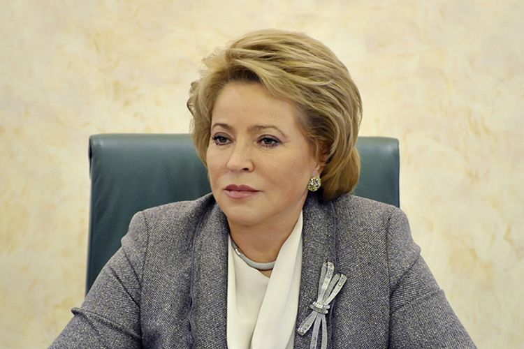Rusiya Federasiya Şurasının sədri özünütəcrid rejiminə keçib