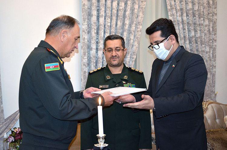 Azerbaijan Defense Ministry expressed condolences to the Iranian side