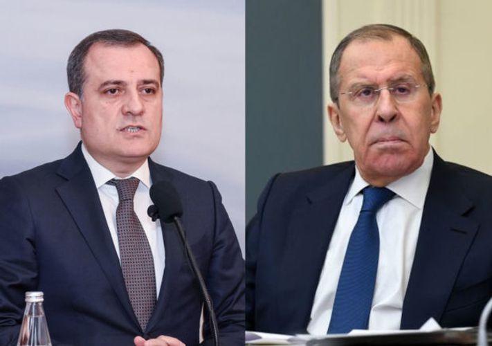 Главы МИД Азербайджана и России обсудили ход выполнения заявления по Карабаху - ОБНОВЛЕНО