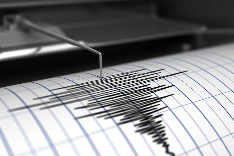 An earthquake hits the Caspian Sea