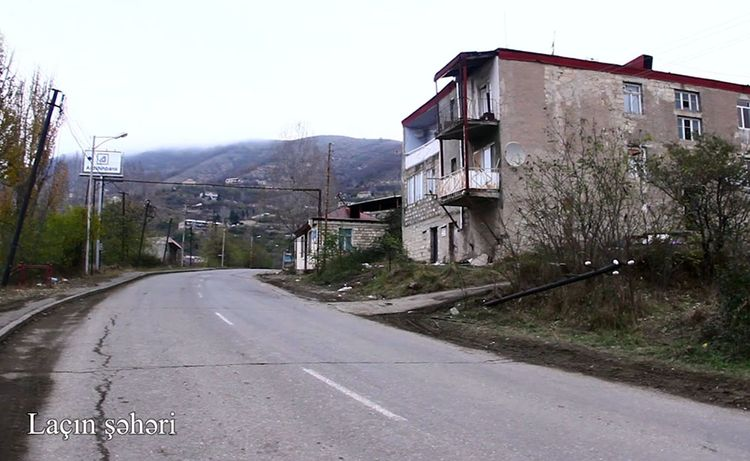 Ministry of Defense releases video footage of the Lachin city - VIDEO