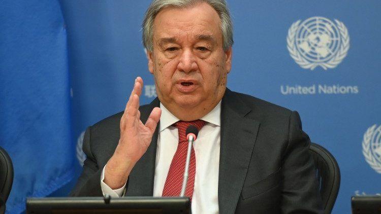 Secretary-General: UN has a financial shortage to take response measures regarding COVID-19