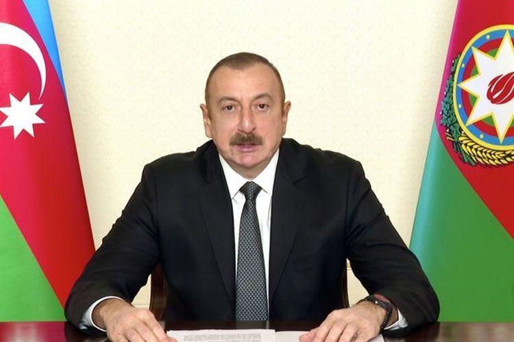 Президент Ильхам Алиев выступил на специальной сессии Генассамблеи ООН, посвященной борьбе с COVID-19