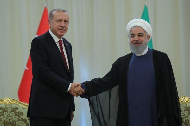 Эрдоган и Роухани обсудили Карабах
