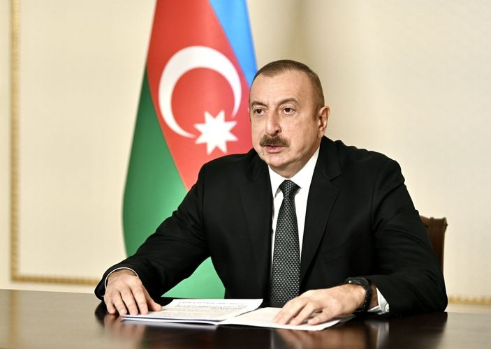 Prezident İlham Əliyev BMT BA-nın xüsusi sessiyasında çıxış edib