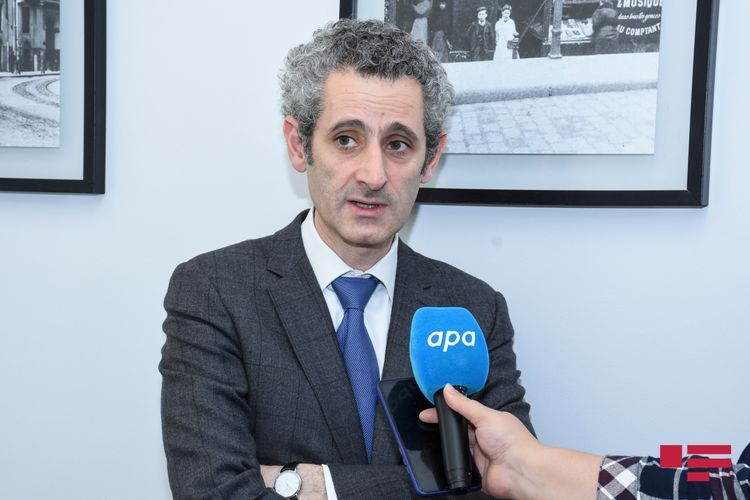 """Ambassador Zacharie Gross: """"French government does not recognise the independence of Karabagh"""""""
