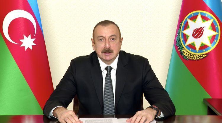 "President Ilham Aliyev: ""Armenia-Azerbaijan Nagorno-Karabakh conflict was resolved by military-political means"""