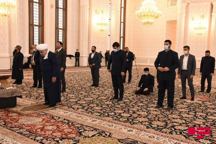 Martyrs of Patriotic War commemorated in Heydar mosque, Unity prayer performed