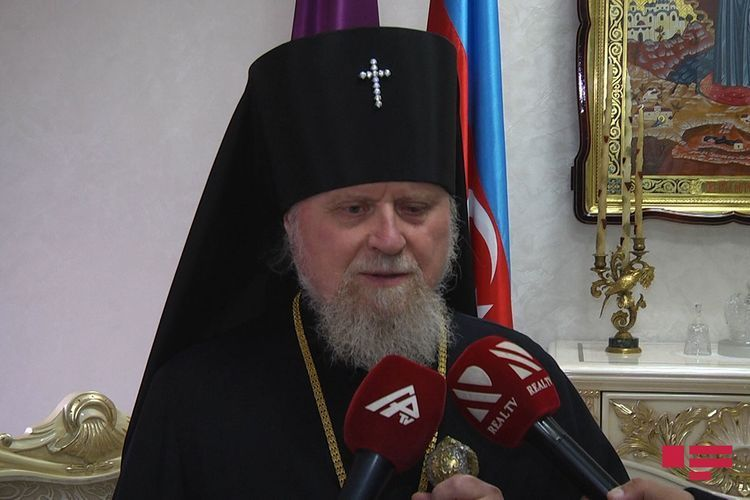 """Archbishop Alexander Ishein: """"These days  to be one of the brightest pages of 21st Century"""""""