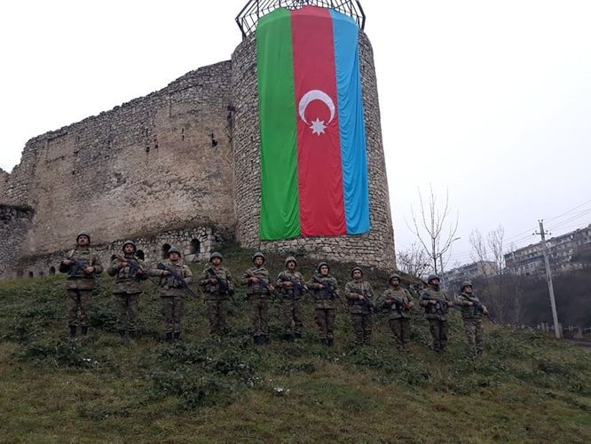 Memory of martyrs of Patriotic War commemorated in Shusha fortress - PHOTO