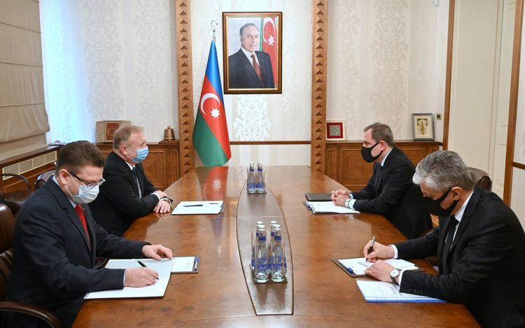 Azerbaijani FM receives Belarus Ambassador