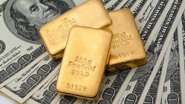 Цена на золото поднялась выше $1850 за тройскую унцию