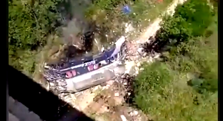 At least 14 people killed, 26 Injured as bus falls from bridge in Brazil, reports claim