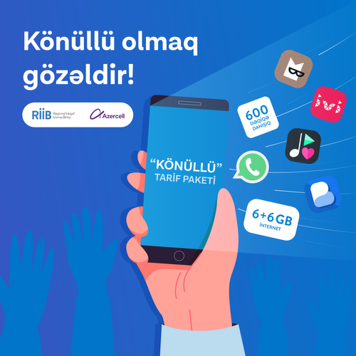 Azercell offers discount for volunteers at the initiative of RDPU
