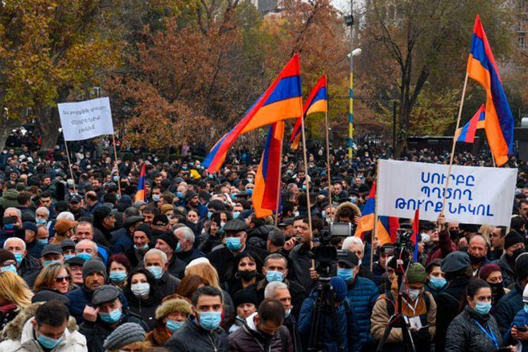 Rally being held in Armenia