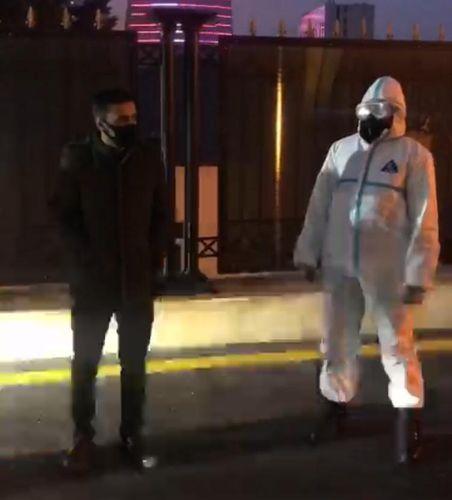 Bakıda 24 yaşlı koronavirus xəstəsi barəsində cinayət işi başlanıb - FOTO